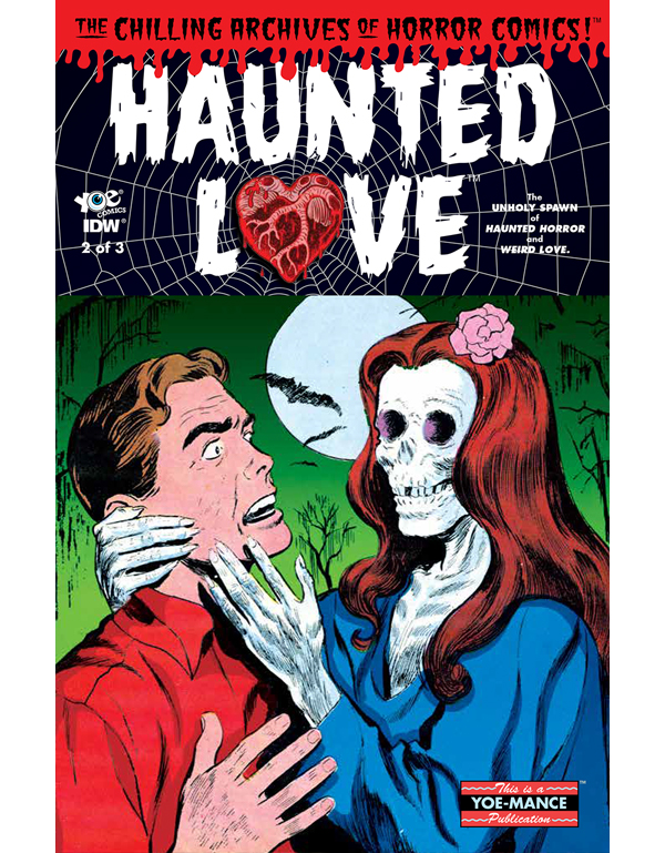 Cover of HAUNTED LOVE #2