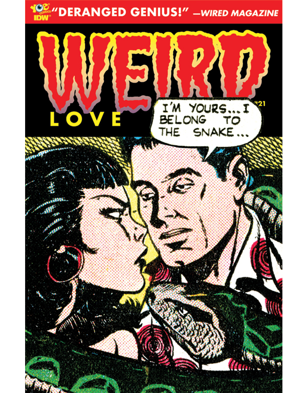 Cover of WEIRD LOVE #21 comic book